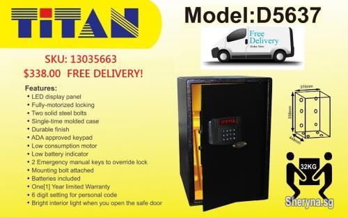 TITAN & SURELOC SAFE ON PROMOTION | Electronics for sale in