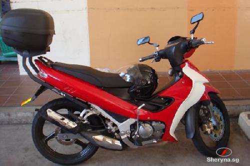 Overhaul Yamaha 125z For Urgent Sale Motorcycles For Sale In