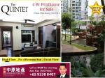 The Quintet condo 4Br Penthouse for Sale, Yew Tee, Choa Chu Kang