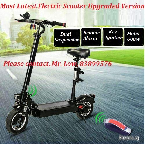 Brand New Latest Upgraded Electric Scooter Model For Sale